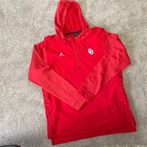 Brand New! Men's Jordan OK University 1/4 Jacket